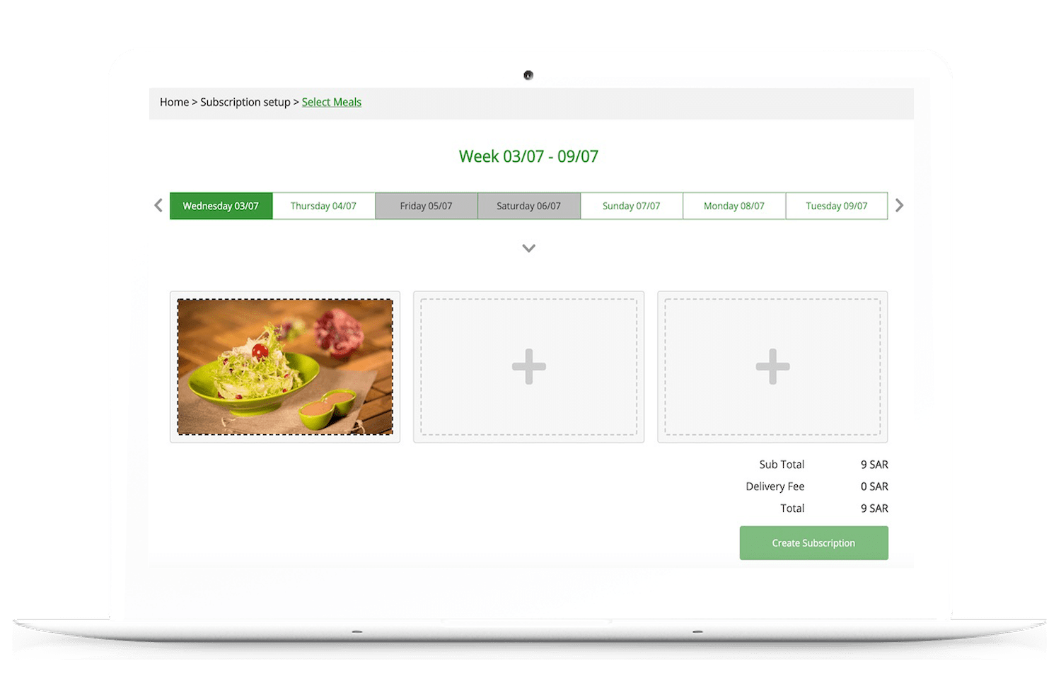 Meal Subscription